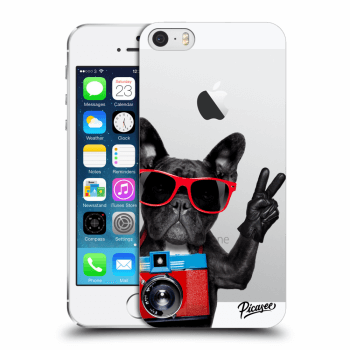 Tok az alábbi mobiltelefonokra Apple iPhone 5/5S/SE - French Bulldog