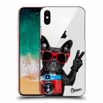 Tok az alábbi mobiltelefonokra Apple iPhone X/XS - French Bulldog