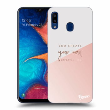 Tok az alábbi mobiltelefonokra Samsung Galaxy A20e A202F - You create your own opportunities