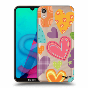 Tok az alábbi mobiltelefonokra Honor 8S - Colored heart