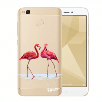Tok az alábbi mobiltelefonokra Xiaomi Redmi 4X Global - Flamingos couple
