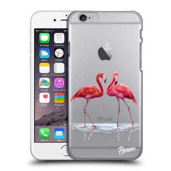 Tok az alábbi mobiltelefonokra Apple iPhone 6/6S - Flamingos couple