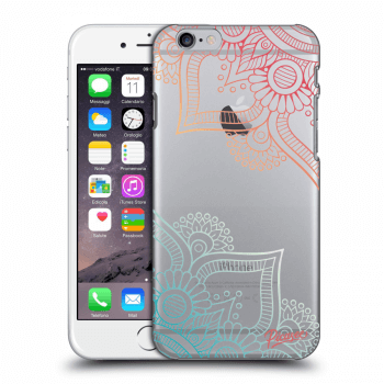 Tok az alábbi mobiltelefonokra Apple iPhone 6/6S - Flowers pattern