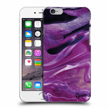 Tok az alábbi mobiltelefonokra Apple iPhone 6/6S - Purple glitter