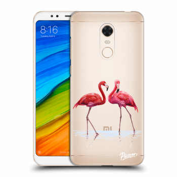 Tok az alábbi mobiltelefonokra Xiaomi Redmi 5 Plus Global - Flamingos couple