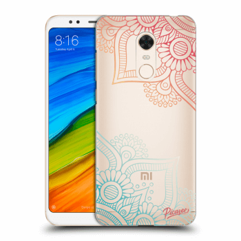 Tok az alábbi mobiltelefonokra Xiaomi Redmi 5 Plus Global - Flowers pattern