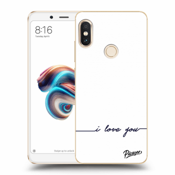 Tok az alábbi mobiltelefonokra Xiaomi Redmi Note 5 Global - I love you