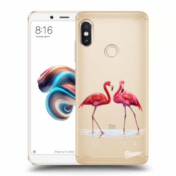 Tok az alábbi mobiltelefonokra Xiaomi Redmi Note 5 Global - Flamingos couple