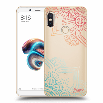 Tok az alábbi mobiltelefonokra Xiaomi Redmi Note 5 Global - Flowers pattern