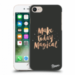 Picasee átlátszó szilikon tok az alábbi mobiltelefonokra Apple iPhone 8 - Make today Magical