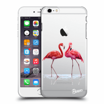 Tok az alábbi mobiltelefonokra Apple iPhone 6 Plus/6S Plus - Flamingos couple