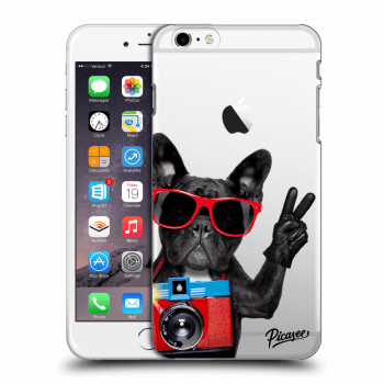 Tok az alábbi mobiltelefonokra Apple iPhone 6 Plus/6S Plus - French Bulldog