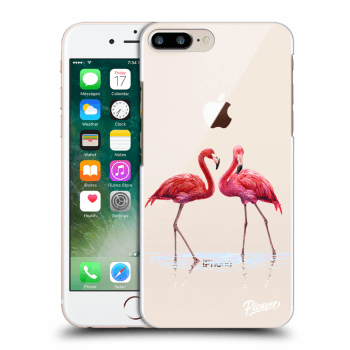 Tok az alábbi mobiltelefonokra Apple iPhone 8 Plus - Flamingos couple