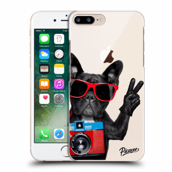 Tok az alábbi mobiltelefonokra Apple iPhone 8 Plus - French Bulldog