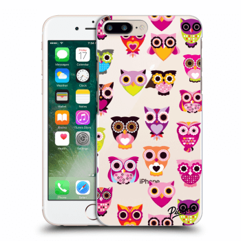 Tok az alábbi mobiltelefonokra Apple iPhone 8 Plus - Owls